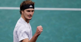 Paris Masters: Zverev halts Nadal to set up title clash with Medvedev