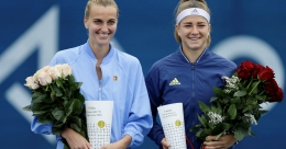 Kvitova wins all-Czech tournament
