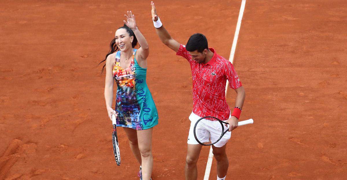 Jankovic & Djokovic