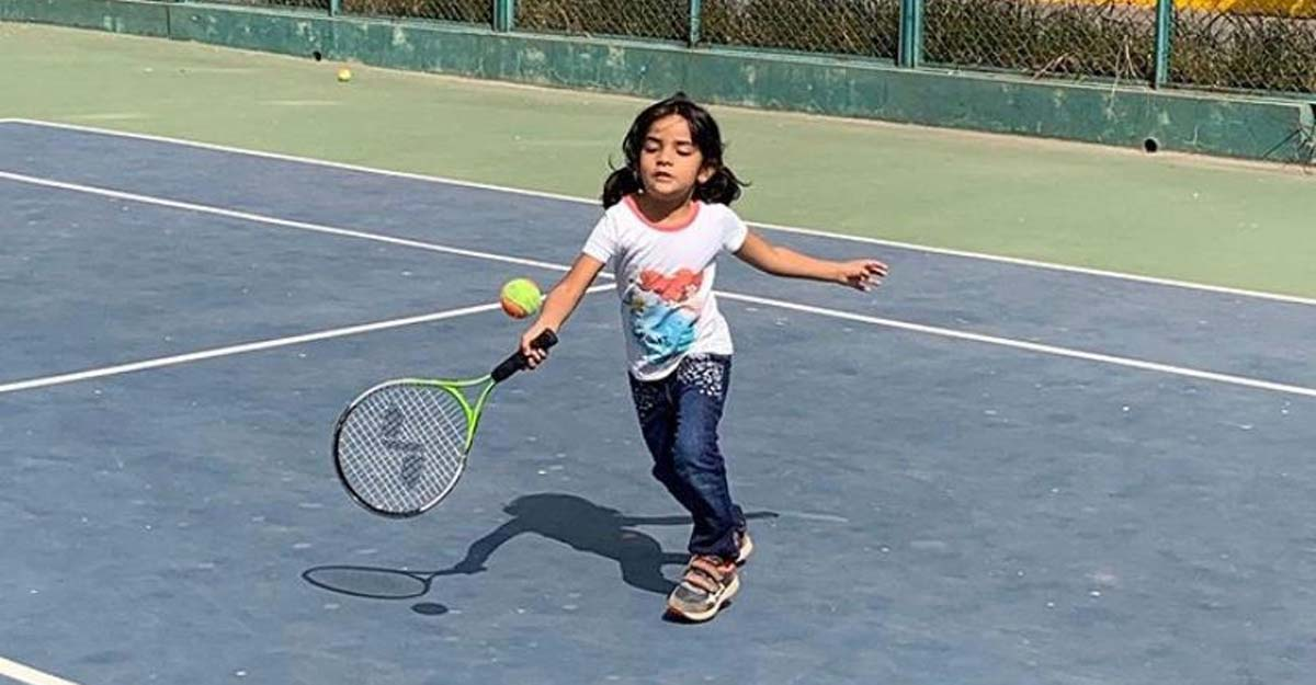 Five-year-old Kerala tennis prodigy applauded by Rafael Nadal