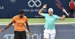 US Open: Bopanna-Shapovalov pair crashes out