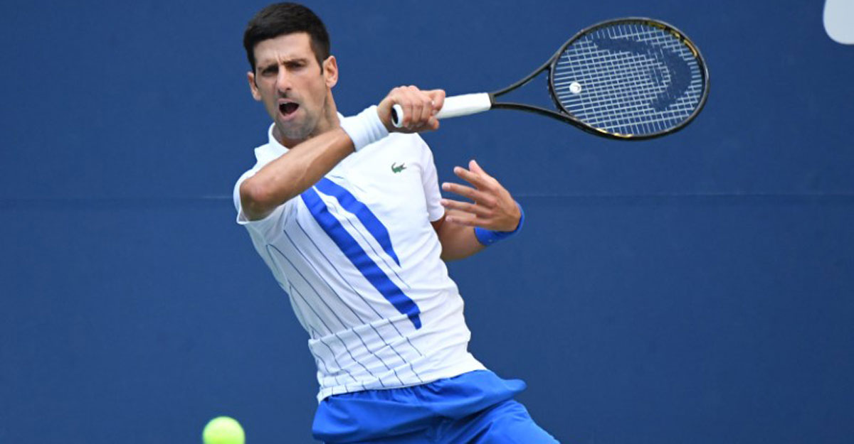 Djokovic disqualified from US Open after striking line judge with ball