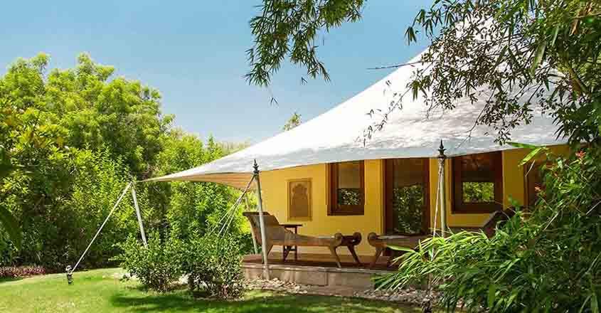 Experience beauty of Ranthambhore at Oberoi Vanyavilas Resort