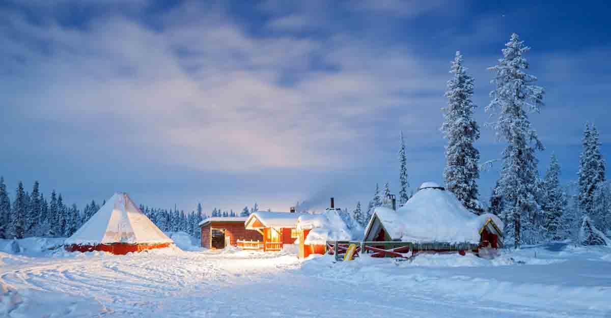 Plan a trip to Santa's home this Christmas