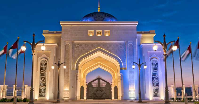 Abu Dhabi Palace: An Arabian architectural marvel