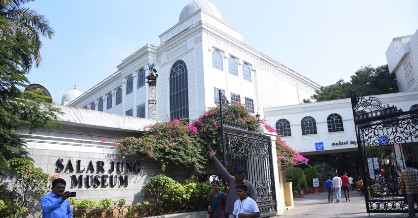Famous for its art collection, Salar Jung Museum in Hyderabad is worth a visit