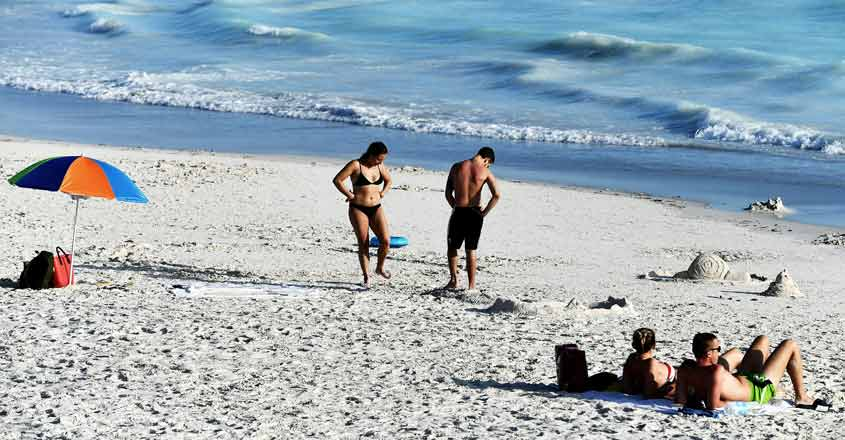 Lovers of Tuscany's 'paradise' beach have factory to thank