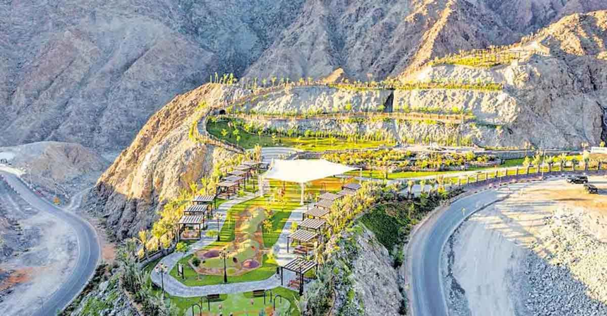 'Shees Park' adds beauty to Khor Fakkan in Sharjah