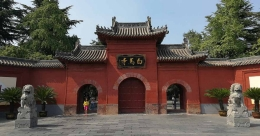 How India influenced China to build its oldest Buddhist temple