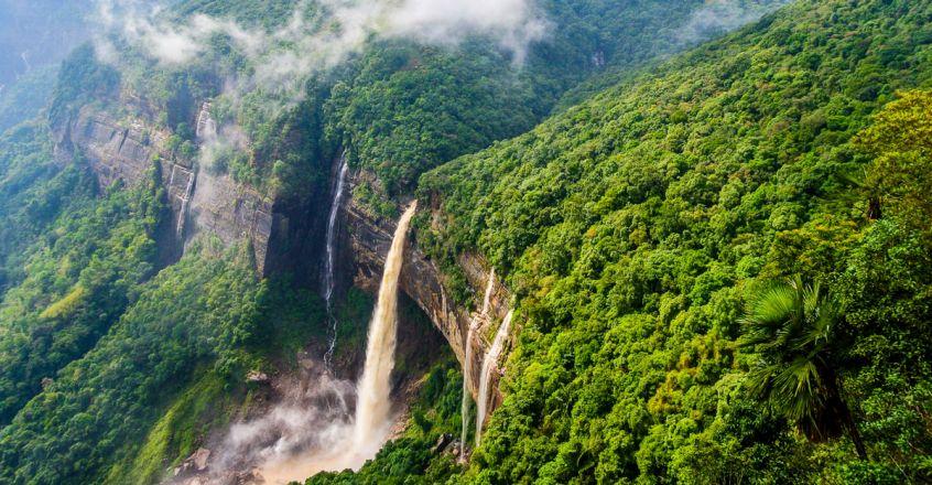 Nohkalikai-Waterfalls