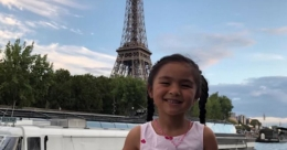 This 5-year-old has already been to 6 continents