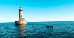 Here is what's special about Stannard Rock Lighthouse