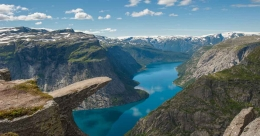 It is an out-of-this-world feeling at Norway's Trolltunga