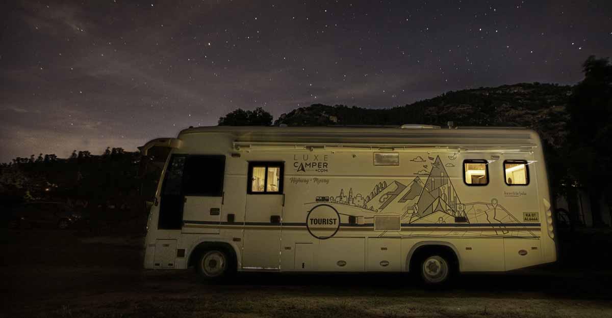 luxury tour van