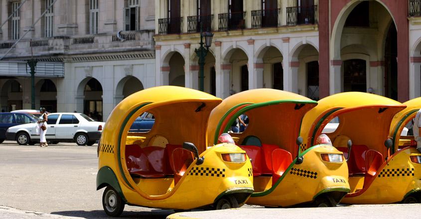 Coco Taxis In Cuba