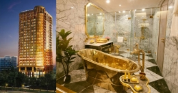 Come, live like a king in this golden hotel