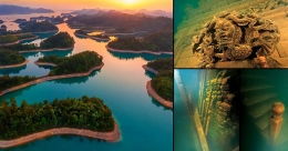 Lion City, a real Atlantis in China
