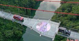 World's longest glass-bottomed bridge opens in China