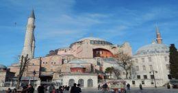 A peek into the magnificent Hagia Sophia