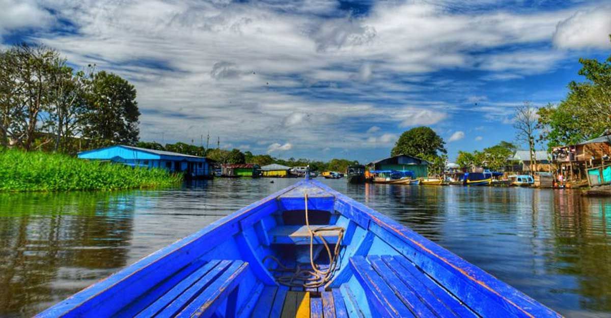 A city in the midst of Amazon rainforest