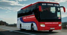 Delhi-London bus trip announced for May 2021