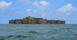 Murud-Janjira, an imposing fort surrounded by Arabian Sea