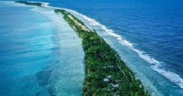 Tuvalu is one of the least visited destinations in the world