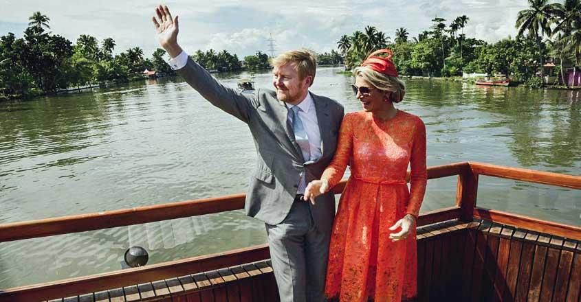 Photo story | Dutch Royals take a backwater ride through Alappuzha