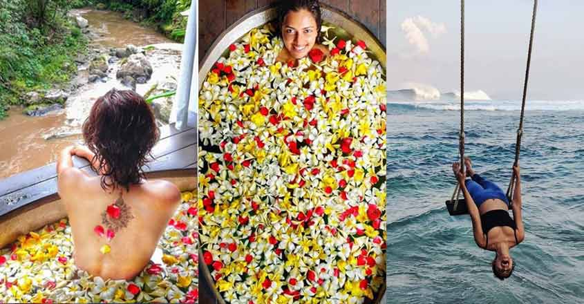 Amala Paul wows fans with her 'flower bath' photos from Bali
