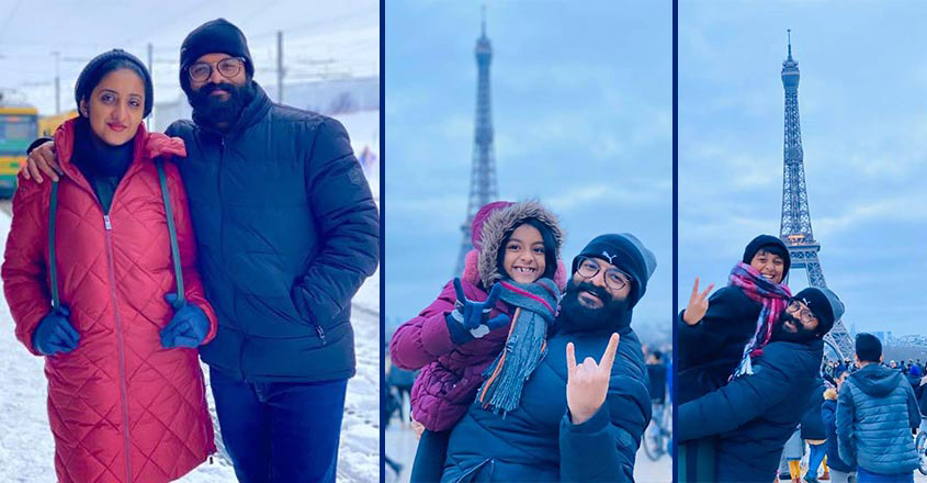 Actor Jayasurya enjoys European holiday with family