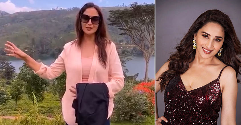Madhuri Dixit posts YouTube video of her Sri Lanka vacation