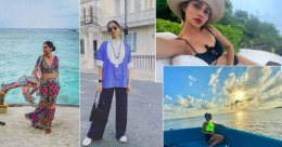 Celebrities travel to Maldives, London as travel curbs ease