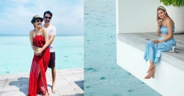 Kajal Aggarwal shares her honeymoon pictures from Maldives