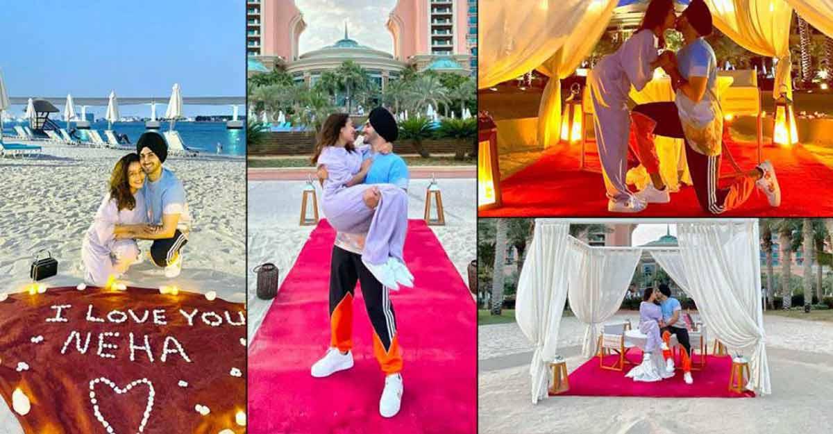 Neha Kakkar Celebrates Honeymoon At Atlantis Dubai Shares Marvellous Pictures Manorama English
