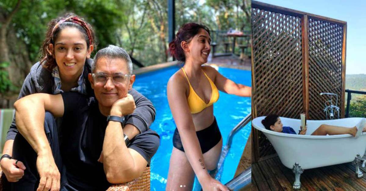 Ira Khan spends her holiday at Lonavala's Machan Tree House