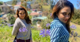 Rimi Tomy chills out with family in hills of Kodaikanal