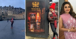 Rimi Tomy bowled over by the beauty of Scotland