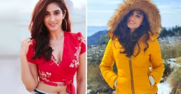 Actress Deepti Sati frolics in snow in Dhanaulti