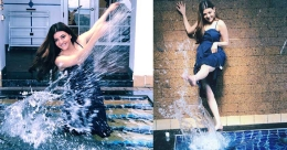 Kajal Aggarwal's poolside photos from her Orissa trip go viral