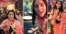Sara Ali Khan turns tour guide in Varanasi; nobody recognizes her