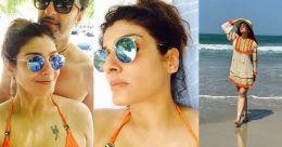 Lockdown blues: Raveena Tandon longs for a beach vacay