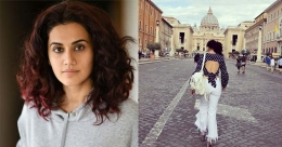 Bollywood actress Taapsee is itching to hit the road again