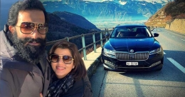 Prithviraj recalls Europe trip with wife Supriya