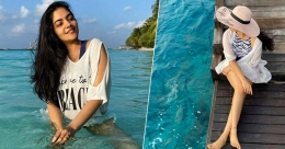 Actress Ahaana and sisters share their Maldives experience