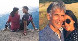 Milind Soman shares a cute throwback travel photo