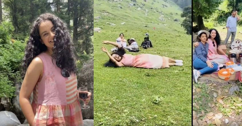 Kangana and family members beat lockdown blues in Manali