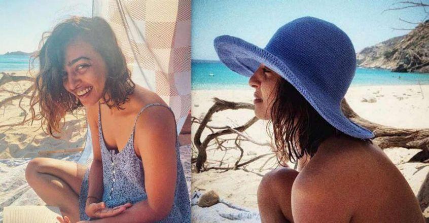 Actress Radhika Apte posts stunning vacation pics from Greek island