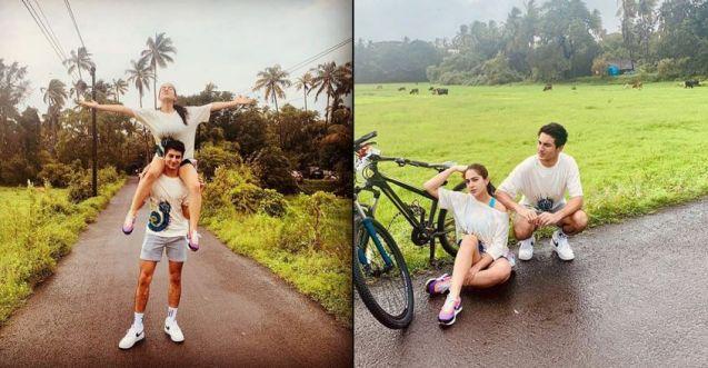 Sara Ali Khan enjoys a holiday in rain-soaked Goa