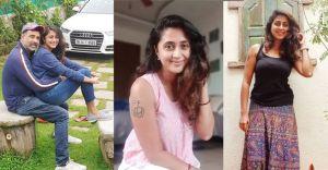 Actress Kaniha enjoys the beauty of Kodaikanal
