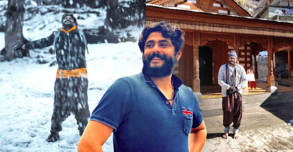 Mollywood actor Pepe makes merry in Himachal